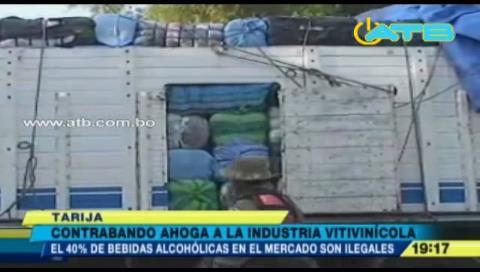 El contrabando perjudica a la industria vitivinícola en Tarija