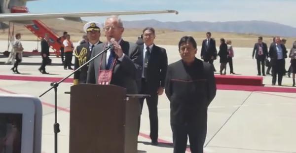 Pedro Kuczynski ratifica agenda de acuerdos con Bolivia
