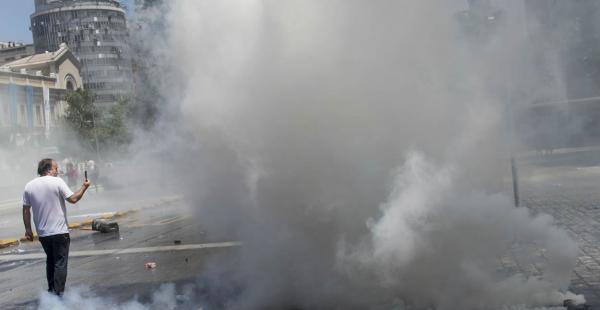 Michelle Bachelet llamó a los movilizados a llevar la tranquilidad nuevamente a las calles