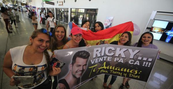 Ricky Martin en Bolivia