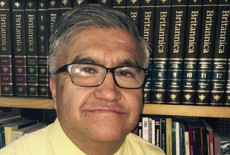 Julio Alvarado, rector, UMSA