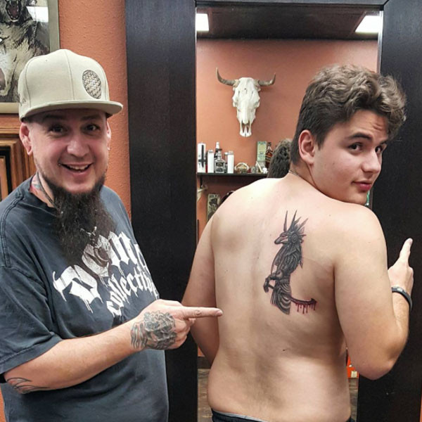 Prince Jackson, Paris Jackson, Tattoo
