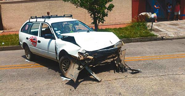 El motorizado implicado en un accidente el fin de semana