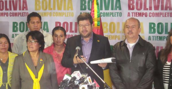 Samuel Doria Medina no tardó en responderle al vicepresidente Álvaro García Linera