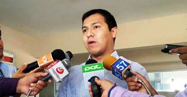 Mauricio Suárez, abogado del sindicado, acompañó a su defendido