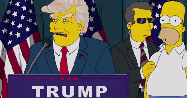 The Simpsons, Donald Trump