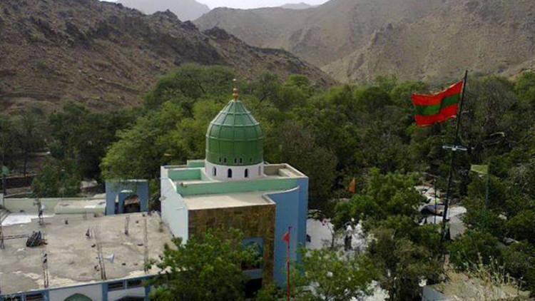El santuario de Shah Noorani