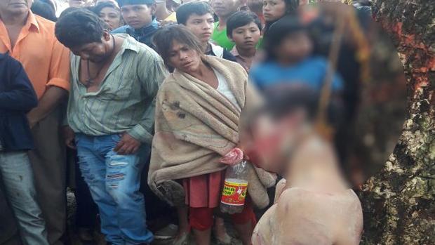 Beni. Cuelgan a un violador tras abuso y muerte de niña de 4 años en Reyes