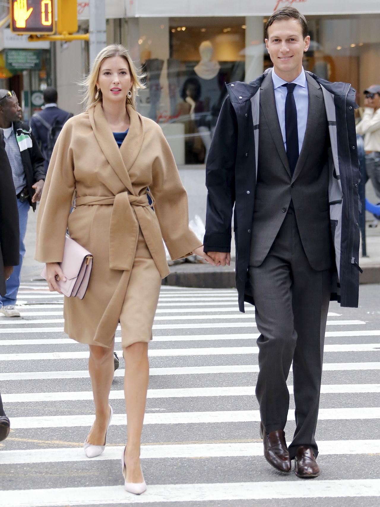 La hija de Donald Trump con su marido Jared Kushner
