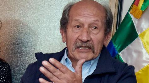 Victor Hugo Rico, director ejecutivo de la Autoridad de Fiscalización y Control Social de Agua Potable y Saneamiento (AAPS).