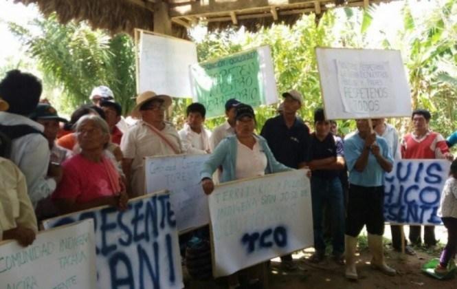 """Indígenas que se oponen a El Bala le recuerdan al Presidente que tienen """"capacidad de entender"""""""