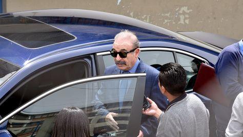 El presidente de Bolívar, Guido Loayza, estuvo en Tembladerani este jueves.