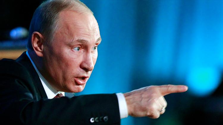 El presidente de Rusia, Vladímir Purin.
