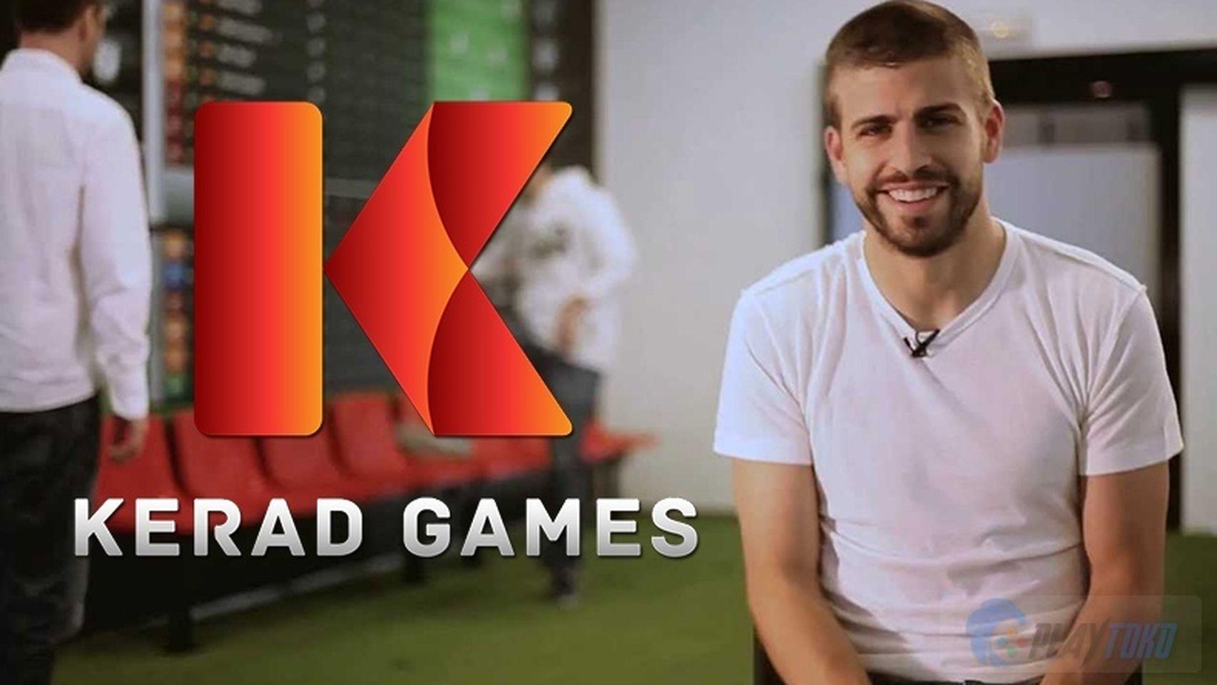 Imagen promocional de Piqué y su empresa Kerad Games