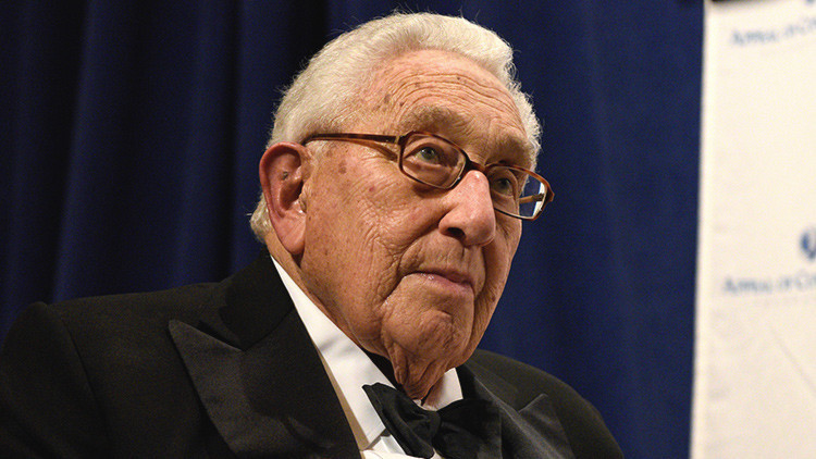 Henry Kissinger, ex secretario de Estado de EE.UU.