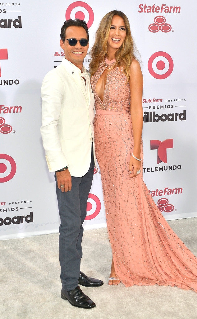 Marc Anthony, Shannon De Lima, Billboard Latin Music Awards