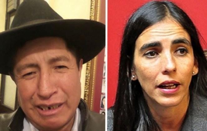 Presidenta de Diputados niega acusaciones y denuncia de Quispe