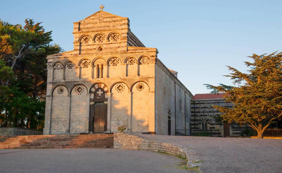 La antigua catedral del complejo de San Pedro Sorres. (iStock)