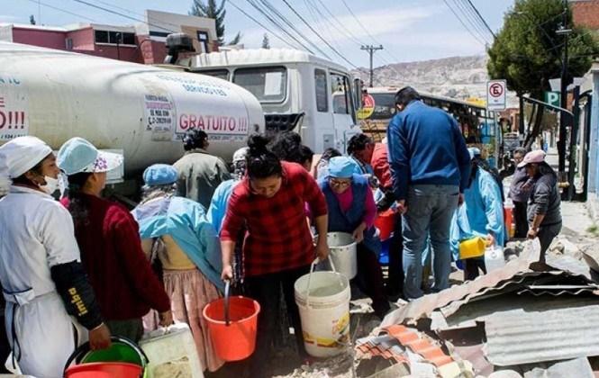 Ministra de Salud recomienda que las aguas así sean de cisternas deben se cloradas o hervidas