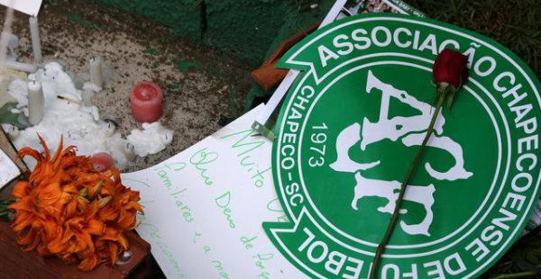 El Chapecoense perdió a todo su primer plantel, cuerpo técnico y principales dirigentes
