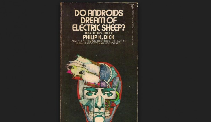 Portada del libro que dio origen a Blade Runner