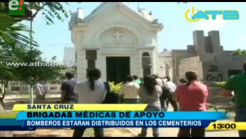Alcaldía atenderá emergencias médicas en los cementerios de Santa Cruz