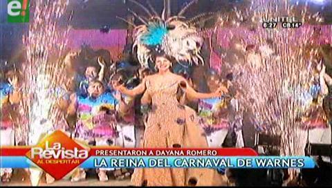 Warnes presentó oficialmente a su reina del carnaval 2017