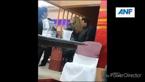 Video muestra al exfiscal Saravia y a la fiscal Quispe entregando cerveza a un supuesto juez