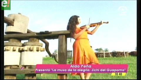 """Aldo Peña presentó """"La musa de la alegría"""" el tema del carnaval 2017"""