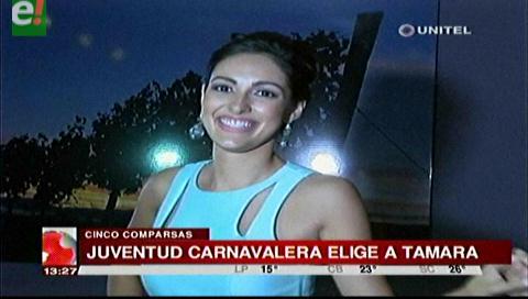 Tamara I proclamada reina de Juventud Carnavalera 2017