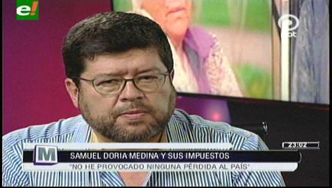 Samuel: La única operación financiera que hizo Linera fue asaltar las remesas