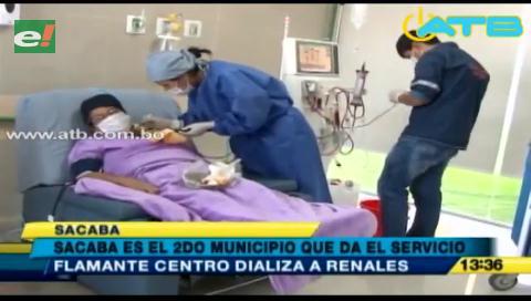 Sacaba brinda servicio a enfermos renales de manera gratuita