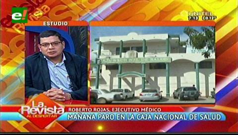 Médicos de la CNS harán paro nacional mañana