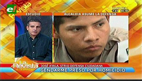 La Alcaldía cruceña solicitará la liberación del gendarme acusado de homicidio
