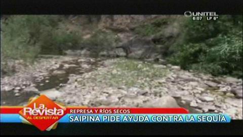 Crisis en Saipina por falta de agua: Pobladores piden desesperados ayuda