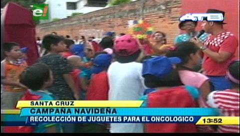 Voluntarios del Oncológico inician en campaña navideña