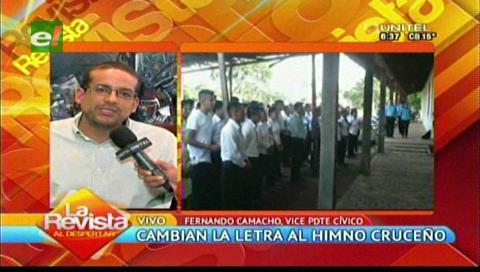 Comité Cívico pide respeto a los cruceños orgullosos de su mestizaje