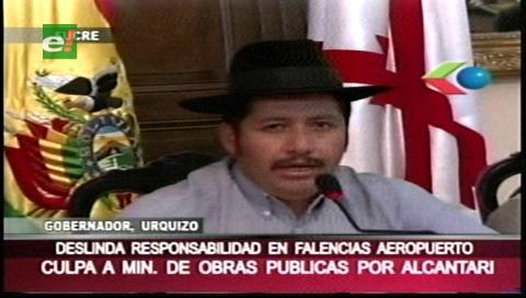 Alcantarí: Gobernador deslinda responsabilidades y culpa a Ministerio de Obras Públicas