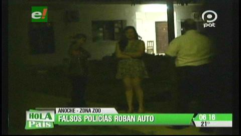Santa Cruz: Falsos policías atracan a una pareja de amigas