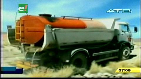 Potosí comprará cisternas para enviar agua a zonas afectadas por la sequía