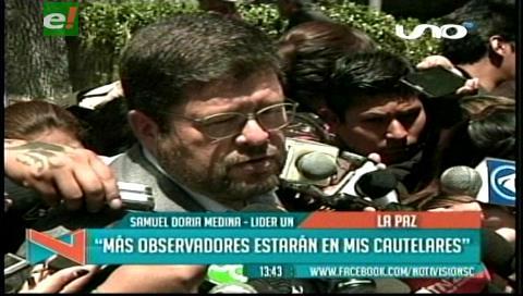 Habrá más observadores internacionales en la audiencia cautelar de Doria Medina