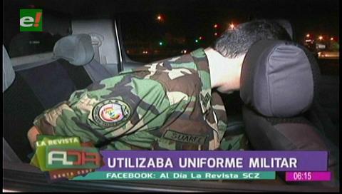 Falso militar será investigado por usurpación de funciones