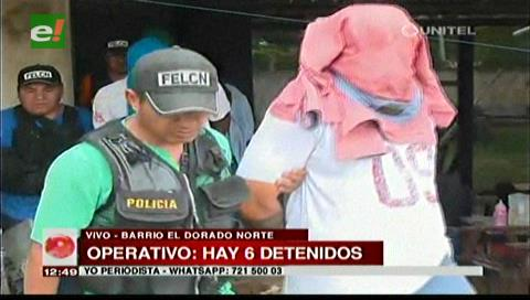 La Policía logra incautar precursores químicos, hay seis detenidos