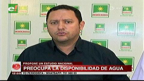 Diputado Dorado pide un estudio hidrológico para conocer la cantidad de agua disponible en el país