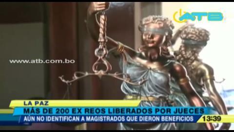 Aún no identificaron a magistrados que liberaron a más 200 reos peligrosos
