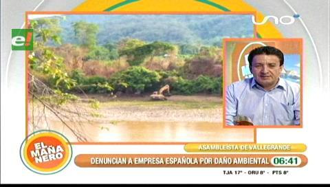 Denuncian a empresa española por daño al medio ambiente