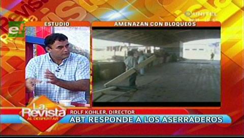 ABT aclara que aserraderos si pueden exportar madera pero en tablas