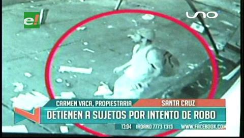 Video: Tres hombres intentan robar en una licorería del Segundo Anillo