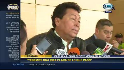 """Jorge Arias: """"No estamos en condiciones de culpar a nadie"""""""