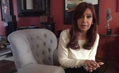 Cristina Kirchner en su casa de Río Gallegos valuada en U$S 570.491. Foto Archivo.